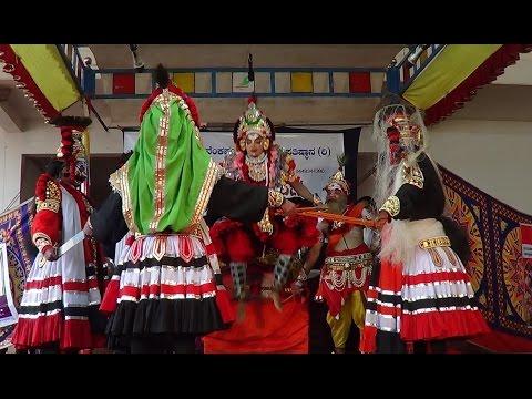 Yakshagana -- Ranga Prasanga - Abhimanyu kalaga - 1 - Yathish Rai kadaba as Saarathi