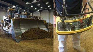 Remote-Controlled 900+ Horsepower Caterpillar Bulldozer