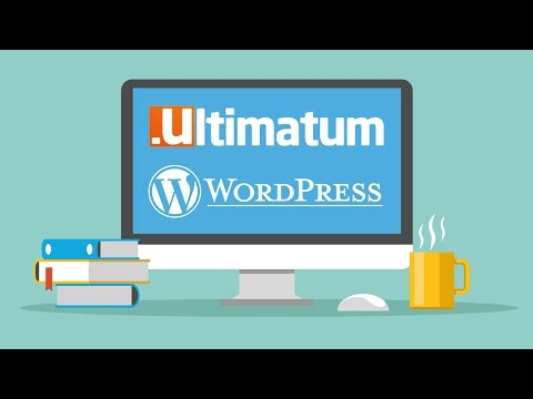 How to add dummy content and text to Ultimatum Wordpress Theme using free plugin online training 2/6