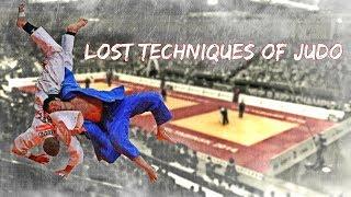 Lost Techniques of Judo