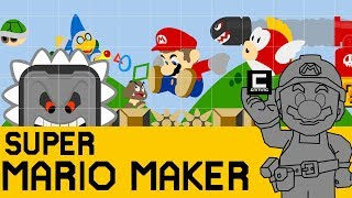 "12 Amazing Super Mario Maker Designs, or ""The Mushroom Kingdom Championship Final 2018"""