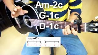 Explicacion  All of me JOHN LEGEND tutorial guitarra