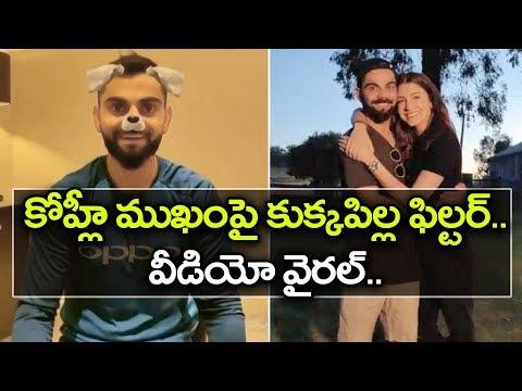 Virat Kohli 'Cutie' Video Going Viral In Social Media | Oneindia Telugu