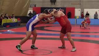 2018 Commonwealth Games TrialsL 125 kg Korey Jarvis vs. Brad Hildenbrandt