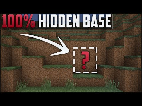 Minecraft: How To Build A Secret Base Tutorial (Hidden House)