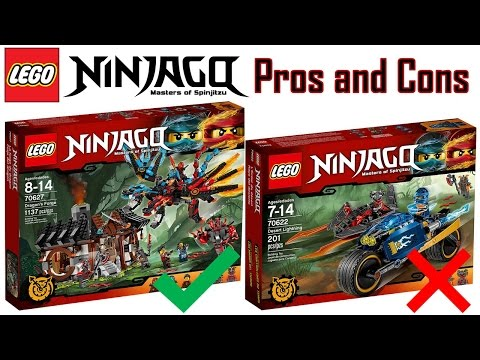 LEGO Ninjago Hands of Time Sets PROS and CONS 2017