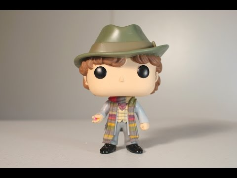 Doctor Who FOURTH DOCTOR (JELLY BABIES) Funko Pop review
