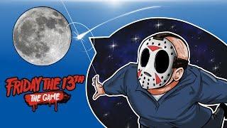 Friday The 13th - SENDING JASON TO THE MOON! (HOME RUN GLITCH!)