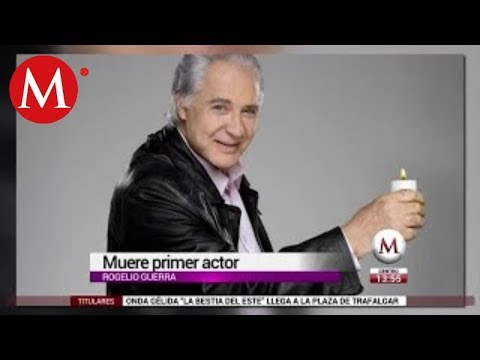 Xxx Mp4 Muere El Actor Rogelio Guerra A Los 81 Años 3gp Sex