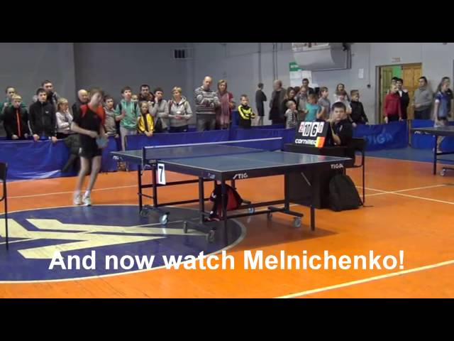 Violence in Table Tennis