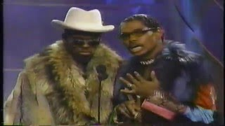Chris Rock and Pootie Tang at the 2000 VMA's