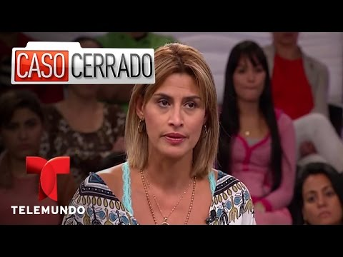 Hija adoptada tiene romance con su papá Caso Cerrado Telemundo
