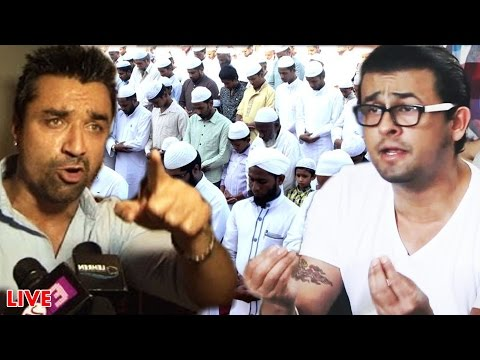 Ajaz Khan THREATENED Sonu Nigam, REACTS On Prophet Muhammad (s.a.a.w)