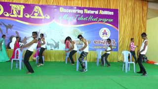 DNA-2016 - blind folded dance- Apoorva College