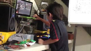 Acid Kitzin con Traktor @ We Love Techno Studios