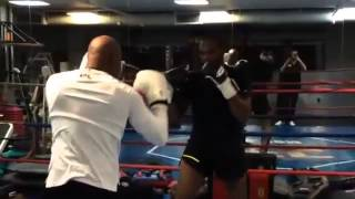Jon Jones vs Anderson Silva Sparring Session   Sneak peek
