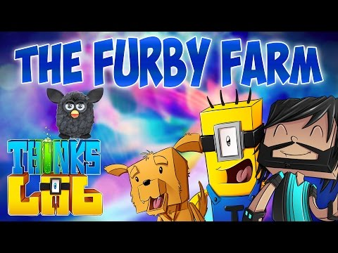 Minecraft Mods : Think's Lab - Visiting The Furby Farm! [Minecraft Roleplay]