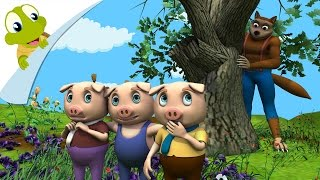 The Three Little Pigs Story Song 3D Nursery Rhyme