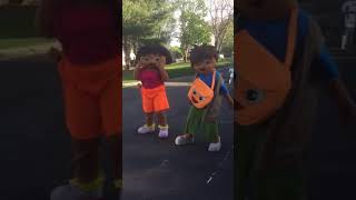 Diego and Dora dancing