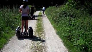 How to ride a Segway offroad