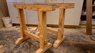 Woodworking, Building Boss Saw Horses, How To