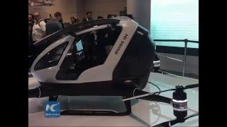 World's first passenger drone debuts at CES