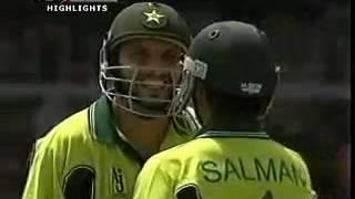 Shahid Afridi 100 on 36 balls Against India == Fastest Hundred
