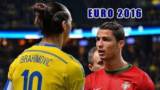 Euro 2016 ● Top 10 strikers ● Highlights | HD