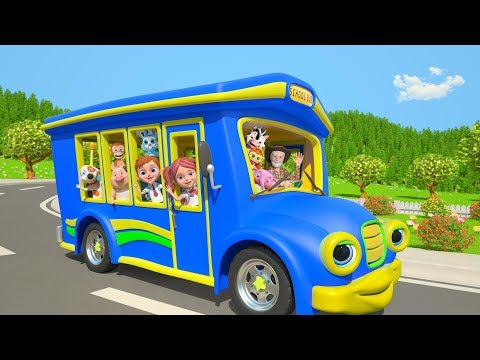 Wheels On The Bus ABC Song More Nursery Rhymes by Little Treehouse