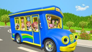 Wheels On The Bus | ABC Song | More Nursery Rhymes by Little Treehouse