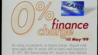1999 Sears Commercial (RIP)