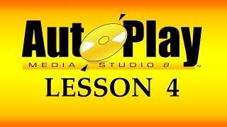 تعلم AutoPlay Media Studio و برمجة تطبيقات الويندوز - 4 - بدأ مشروع جديد و ضبط الإعدادات