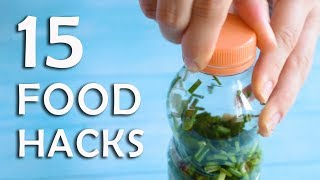 15 FOOD HACKS THAT ARE SIMPLY GREAT!