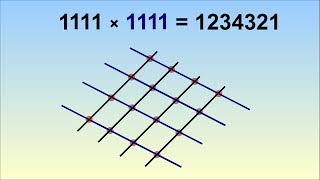 111111111x111111111 - Beauty of Mathematics
