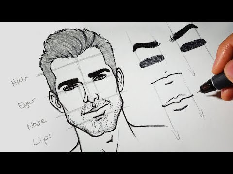 Download Lagu How to Draw + Design Faces Using WACOM Intuos Pro Paper Tablet MP3