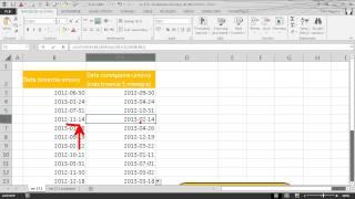excel-171 - Dodawanie miesięcy do dat cz.1 (DATA, ROK, MIESIĄC, DZIEŃ)