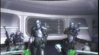 Star Wars Republic Commando Opening Cut Scenes (9-19-09)