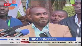 Abduba Dida concedes defeat and urges Kenyans to be patient