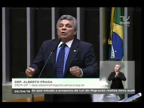 Dep. Alberto Fraga (DEM-DF) se opõe ao PL 257/16 e defende policiais e bombeiros