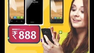 Docoss X1 Android Smartphone for 888 $13 Price & Specification