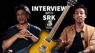 Shahrukh Khan Interview With Veer Kumar ( Talking about Guitar )