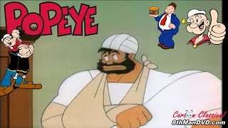 POPEYE THE SAILOR MAN: Assault and Flattery (1956) (Remastered) (HD 1080p)