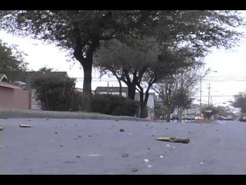Balacera Reynosa parte 1 17 Febrero 2009