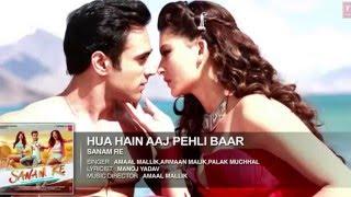 Hua hain aaj pehli baar.. Sanam Re video song. Awesome lyrics..