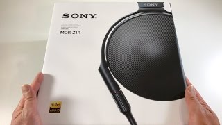 Unboxing: Sony MDR-Z1R Signature Series Headphone