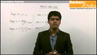 Profit and Loss | Quantitative Aptitude | Bank PO Video Lecture