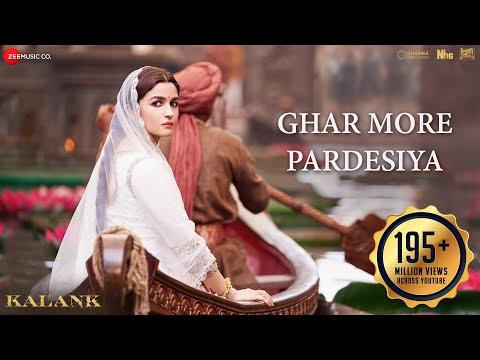 Xxx Mp4 Ghar More Pardesiya Full Video Kalank Varun Alia Amp Madhuri Shreya Amp Vaishali Pritam Amitabh 3gp Sex