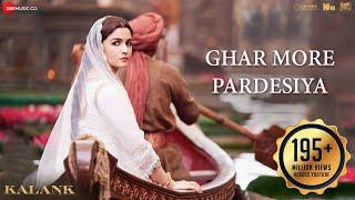 Ghar More Pardesiya - Full Video  Kalank   Varun, Alia & Madhuri  Shreya & Vaishali  Pritam  Amitabh