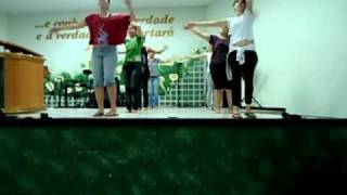 Ensaio da coreografia - Seremos um - FDH - Movimento Restaurador - A Verdade que Liberta