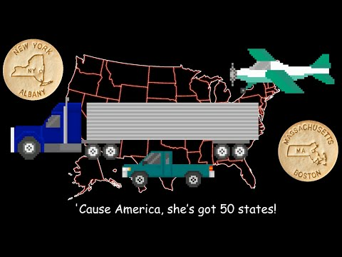 watch 50 States Song - With Mr. R. & Dick and Jane Educational Snacks - The Kids' Picture Show